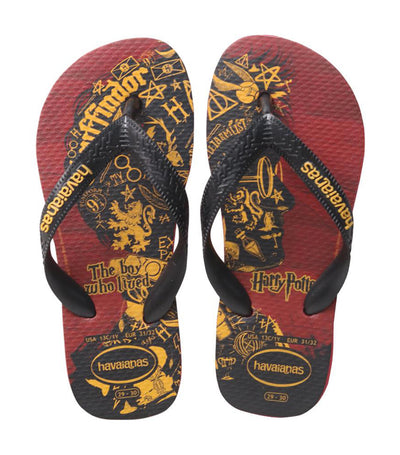 havaianas kids apache red and black harry potter