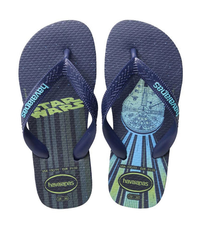 havaianas kids navy blue star wars