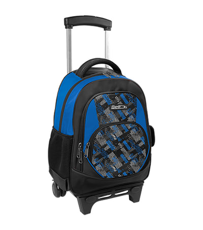 hawk boys backpack stroller black and royal blue