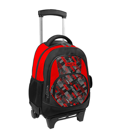 hawk boys backpack stroller red and black