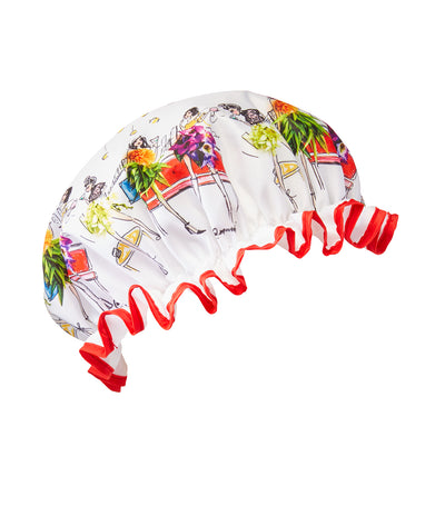 Heathcote & Ivory #SomeFlowerGirls Meredith Wing Shower Cap