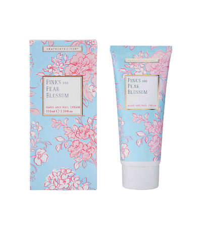 Heathcote & Ivory Pinks & Pear Blossom Hand & Nail Cream