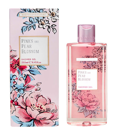 Heathcote & Ivory Pinks & Pear Blossom Shower Gel