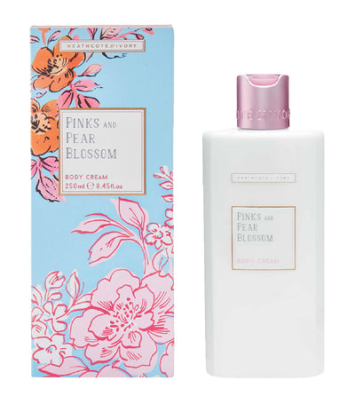 Heathcote & Ivory Pinks & Pear Blossom Body Cream
