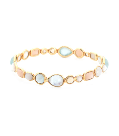 ippolita 18k gold rock candy gelato bangle in silk road dream