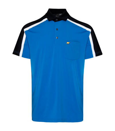 jack nicklaus polyester elastane colorblock pieced polo shirt victoria