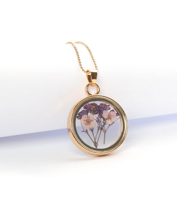 jane iredale free pressed flower necklace