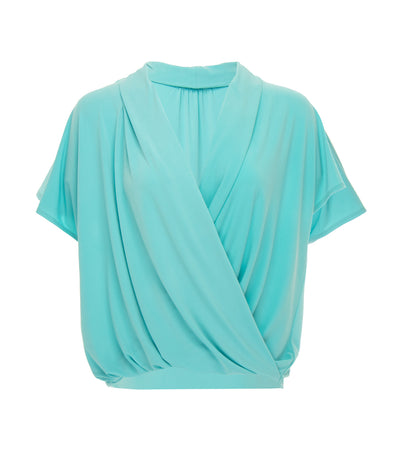 jill by jojie lloren begonia cap sleeve top teal
