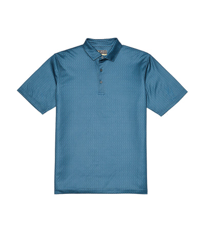 jack nicklaus all over mini foulard polo shirt deep dive