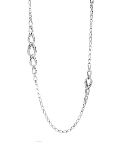 john hardy bamboo silver link necklace