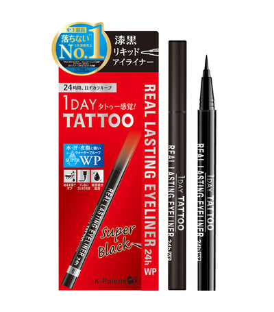 k-palette super black 1 day tattoo real lasting eyeliner