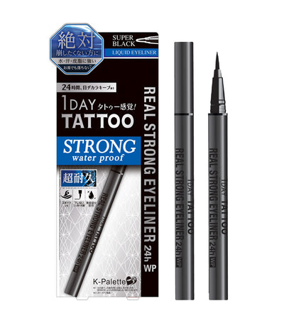 k-palette super black 1 day tattoo real strong eyeliner