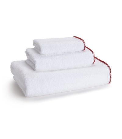 kassatex picot paprika wash towel