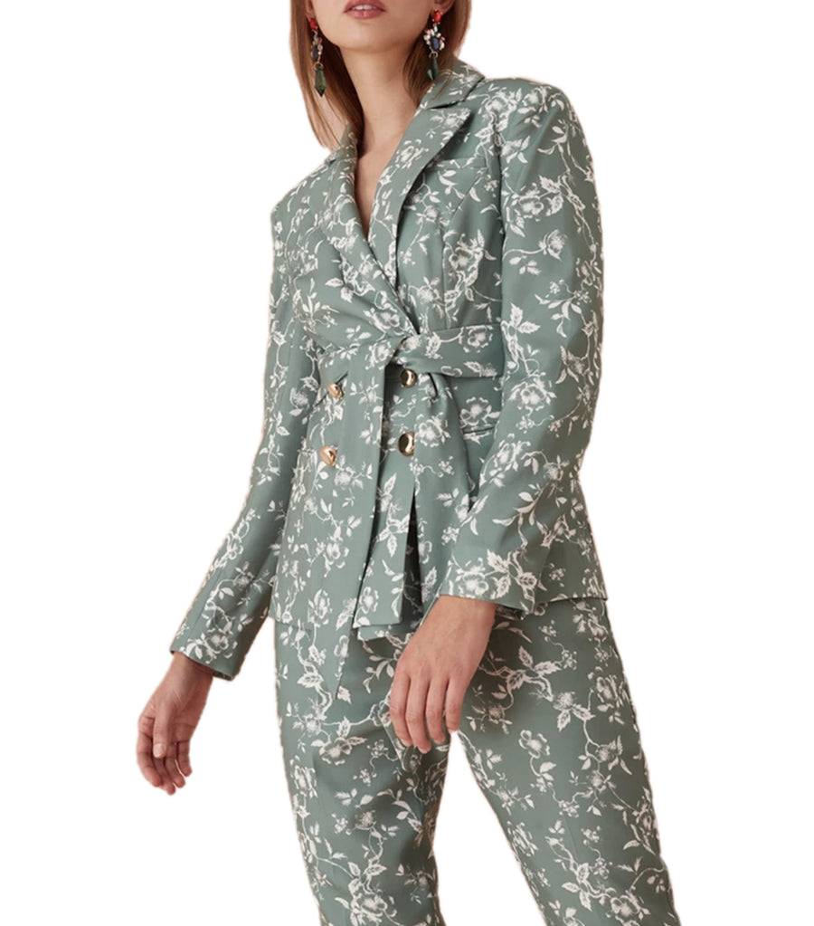 keepsake the label watcher floral blazer