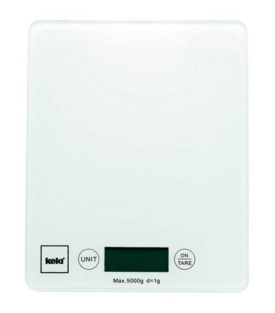 kela white pinta kitchen scale