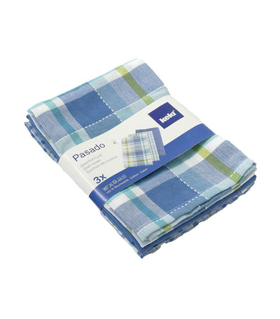 kela pasado blue dish cloth - set of three