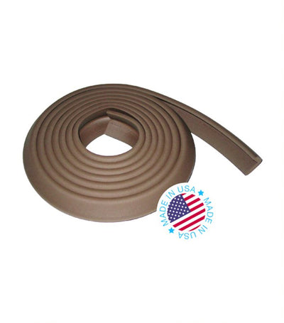 kidkusion brown toddler edge cushion 12ft