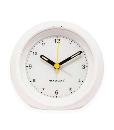 Relaxation Sleep Clock White