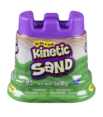 kinetic sand single container - 5oz - green