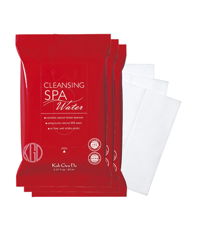 kohgendo 3-pack cleansing water cloth