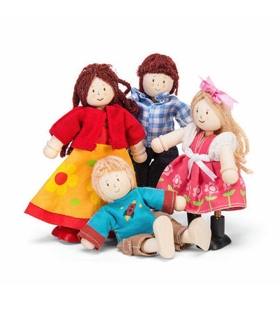 le toy van doll family of 4