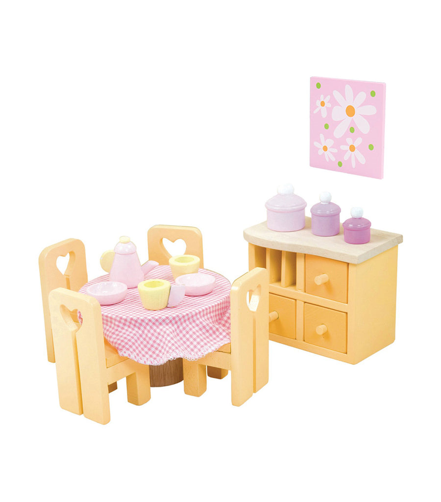 le toy van sugar plum dining room