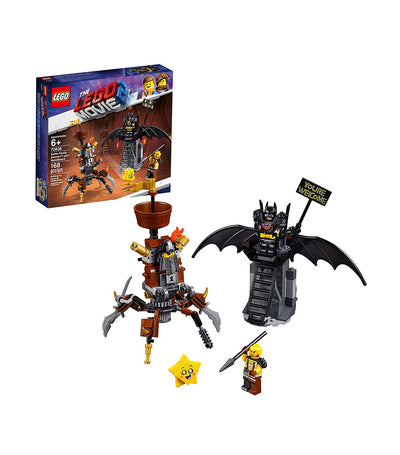 lego® the lego® movie 2™ battle-ready batman™ and metalbeard
