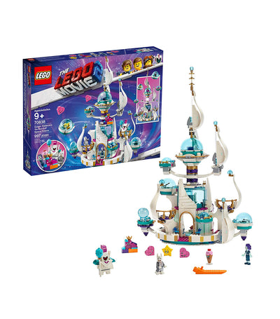lego® the lego® movie 2™ queen watevera's 'so-not-evil' space palace!
