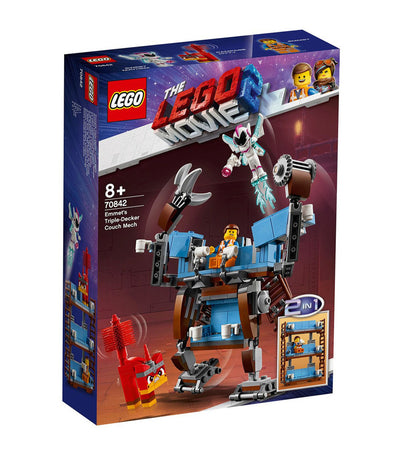 lego® the lego® movie 2™ emmet's triple-decker couch mech