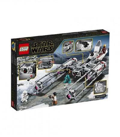 lego® star wars™ resistance y-wing starfighter
