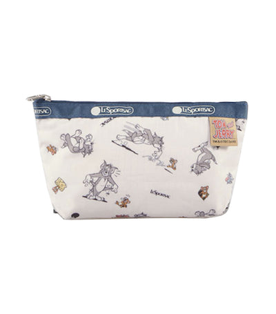 Tom and Jerry x LeSportsac  Small Sloan Cosmetic Kit The Chase