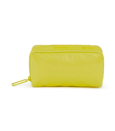 lesportsac lemon burst rectangular cosmetic bag