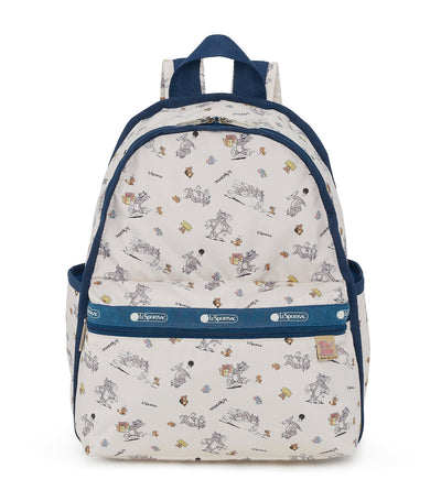 lesportsac x tom and jerry basic backpack the chase