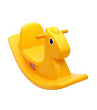 little tikes yellow rocking horse
