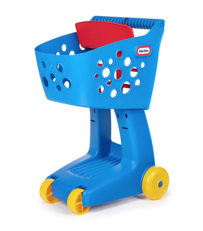 little tikes blue lil' shopper