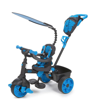 little tikes neon blue 4-in-1 trike deluxe edition