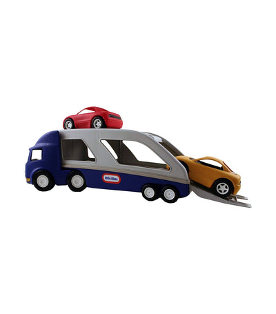 little tikes blue big car carrier
