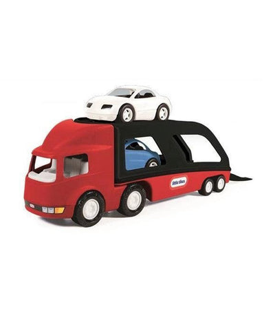 little tikes red big car carrier