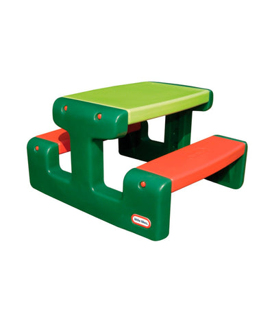 little tikes evergreen junior picnic table