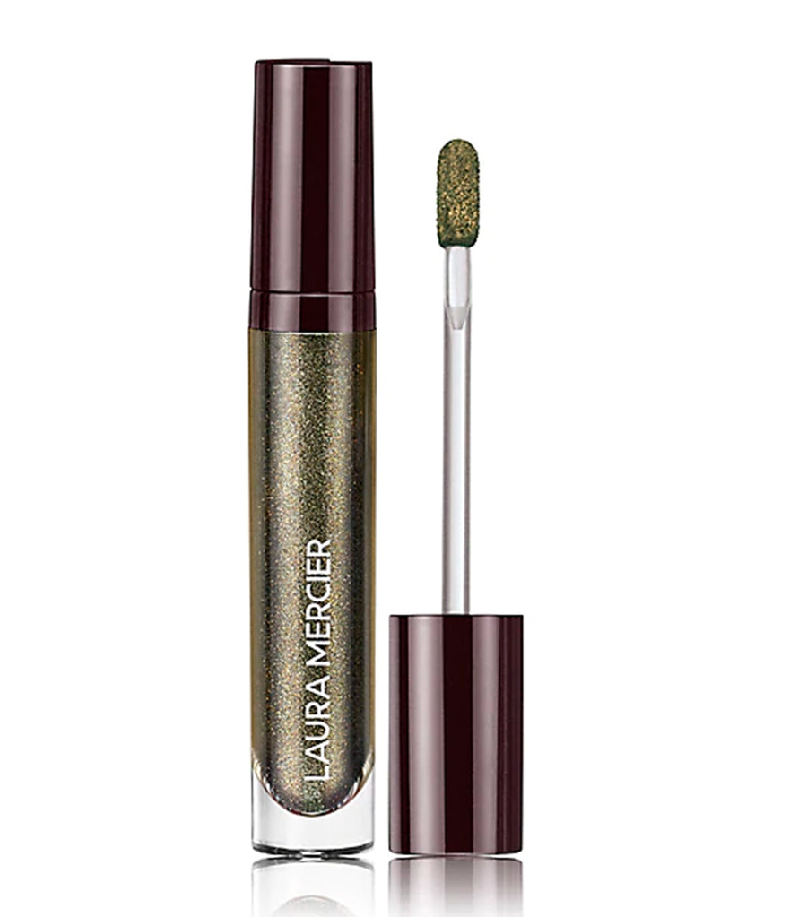 Laura Mercier Caviar Chrome Veil Liquid Eyeshadow night sky
