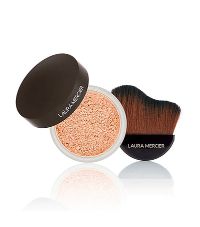 laura mercier make it glow powder & brush transluscent