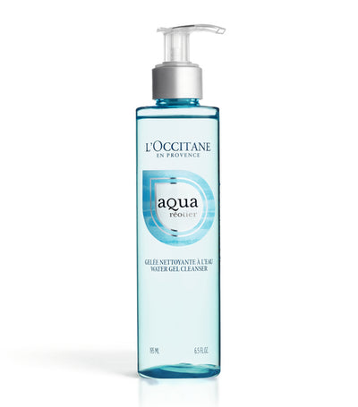 l'occitane aqua réotier water gel cleanser
