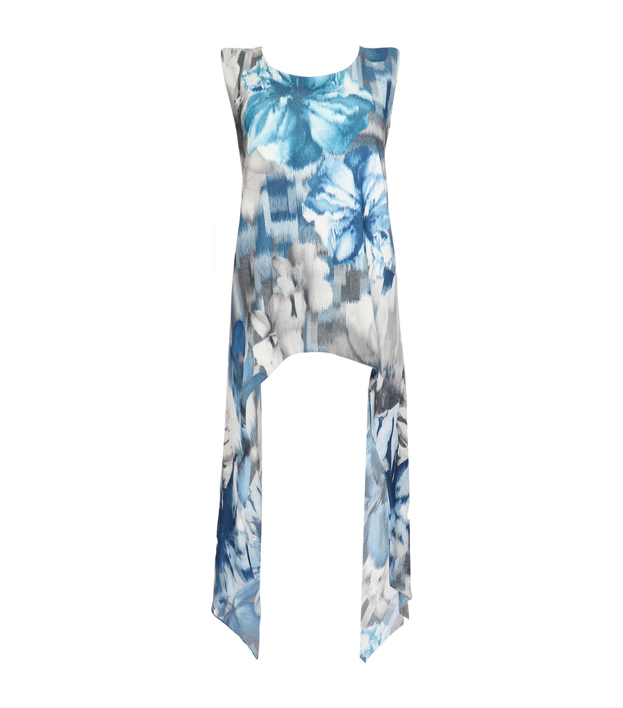 lotus resortwear clarina cross back blouse