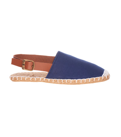 lotus resortwear elora espadrille slip ons blue