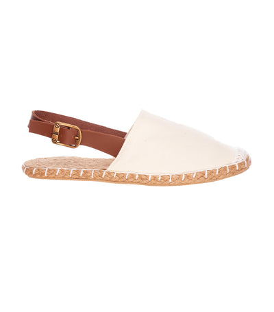 lotus resortwear elora espadrille slip ons cream