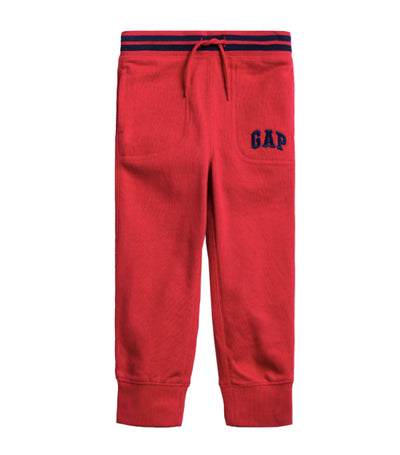 Toddler Logo Pull-On Joggers - Modern Red