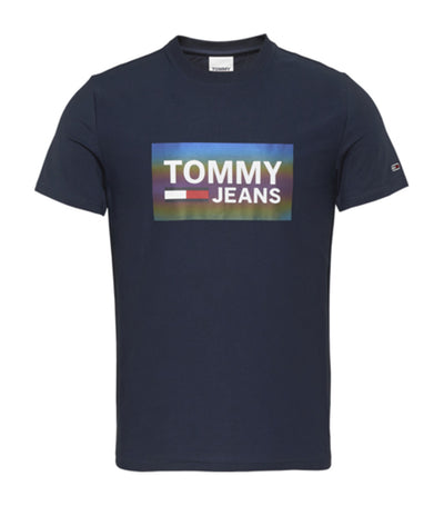 Tommy Hilfiger Tommy Jeans Center Logo Tee Twilight Navy