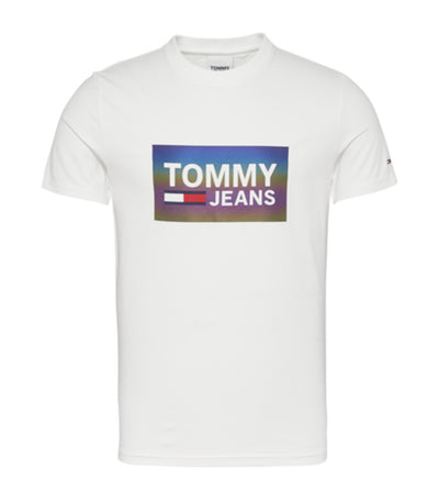 Tommy Hilfiger Tommy Jeans Center Logo Tee White