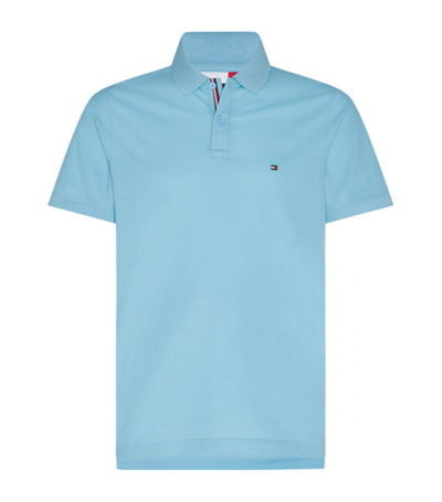 Tommy Hilfiger Luxury Stretch Slim Polo Light Blue