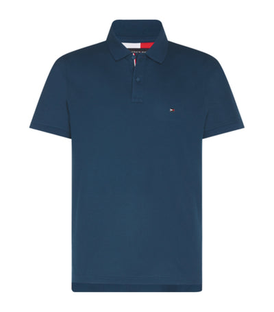 Tommy Hilfiger Luxury Stretch Slim Polo Navy Blue